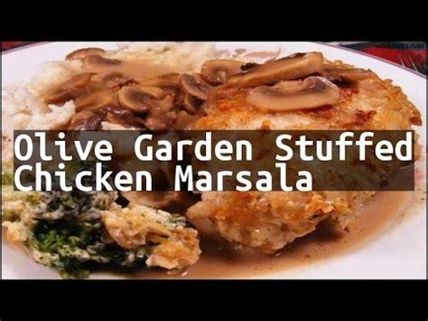 Chicken Marsala Olive Garden Recipe by Recipe Olive Garden Stuffed Chicken Marsala
