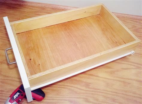 how to build cabinet drawers how to build drawer boxes