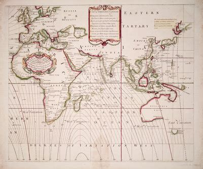 a new and correct sea chart of the whole world showing the