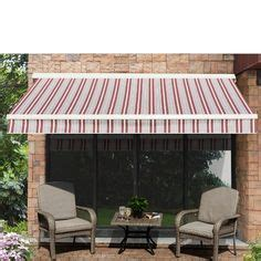 ft    ft  fabric retractable standard patio awning retractable awning outdoor