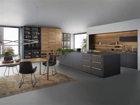 exemples sublimes de la cuisine noire  bois