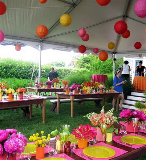 Outdoor Party Decorations  Party Favors Ideas
