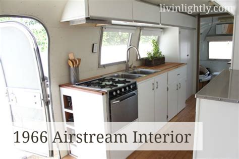 cing kitchen storage the airstream interior tour livin lightly 1975