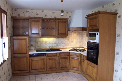 exemple cuisine en l modele de cuisines meuble cuisine