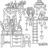 Coloring Pages Books Printable Uploaded User Fairy Sneak Tomorrow Shelves sketch template