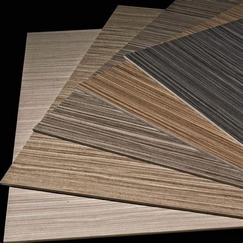 Ultra Thin Porcelain Tile Wood Look Line Pattern Slim Tile