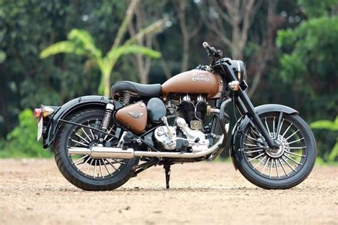 Modification Royal Enfield Bullet 350 by Royal Enfield Classic 350 Dirt Brown Modification Modifiedx