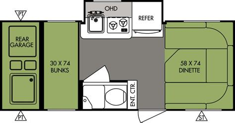 2015 R Pod Floor Plans by 2015 Forest River R Pod Rp 182g Travel Trailer Dufours Rv