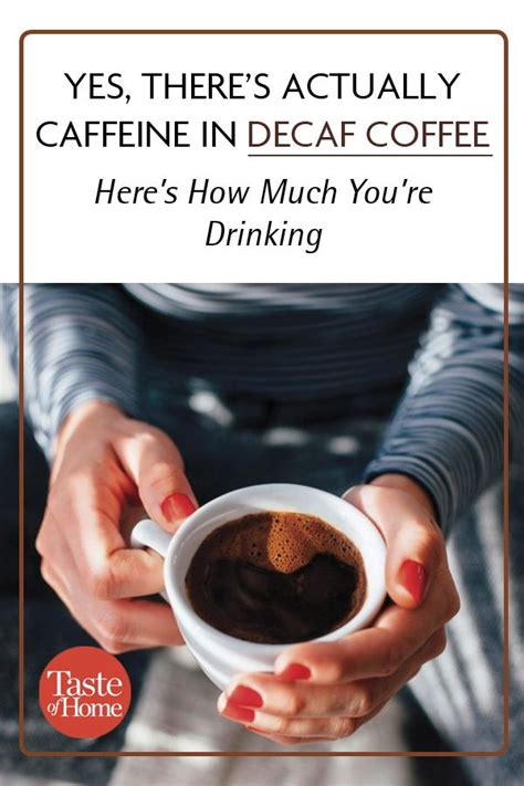 Does robusta have more caffeine than arabica coffee? Here's How Much Caffeine Decaf Coffee Actually Has | Decaf coffee, Coffee drink recipes, Decaf