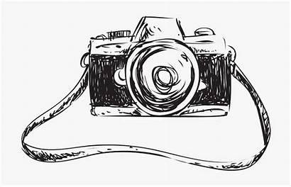 Camera Drawing Sketch Creative Transparent Pull Away