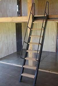 Project Live In Mezzanine Workshop Ships Ladder On
