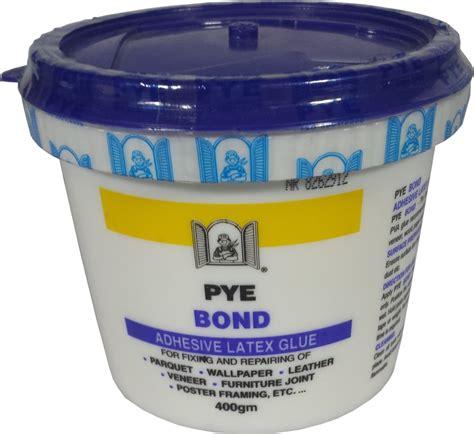 pyebond adhesive latex glue gm horme hardware diy