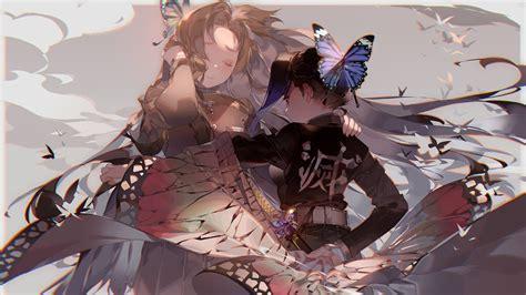 Hd wallpaper anime demon slayer kimetsu no yaiba giyuu tomioka. Demon Slayer Kanae Kocho Shinobu Kochou HD Anime Wallpapers   HD Wallpapers   ID #40932