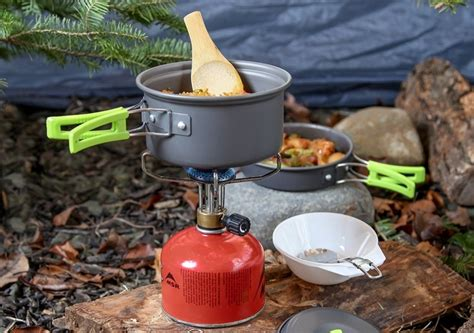 camping cooking gear tools backpacking cookware pot mallome stove hiking outdoor meals choose