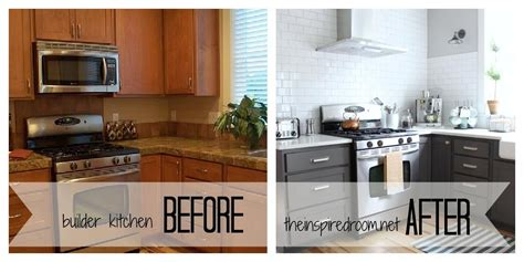 painting kitchen cabinets ideas before and after spray paint kitchen cabinets before and after remodeling