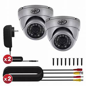 Ultra High Resolution Indoor/Outdoor Dome Security Cameras ...