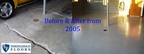 Garage Coatings   Before & After
