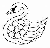 Swan Coloring Pages Template Baby Swans Printable Print Olds Flying Getcoloringpages Lake Results sketch template
