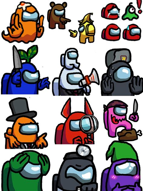 Made Emojis For Our Discord Channel Amongus