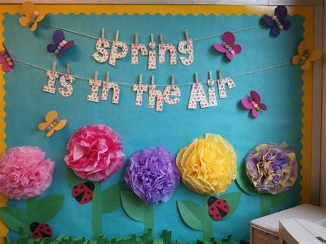 Springtime Bulletin Board In My 4th Grade Classroom