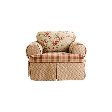 sure fit lexington 1 piece chair slipcover multi
