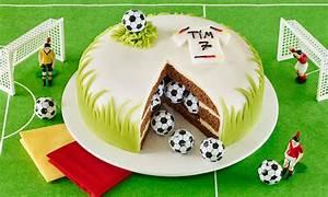 Fußball Überraschungstorte Rezept Dr Oetker