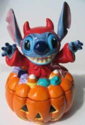 disney cookie jar halloween devil stitch  pumpkin