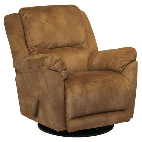 Recliners That Swivel by Maverick Catnapper Chaise Swivel Glider Recliner