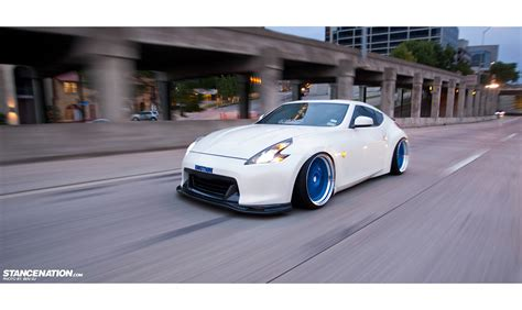 stanced nissan team emotion kevin 39 s texas style nissan 370z