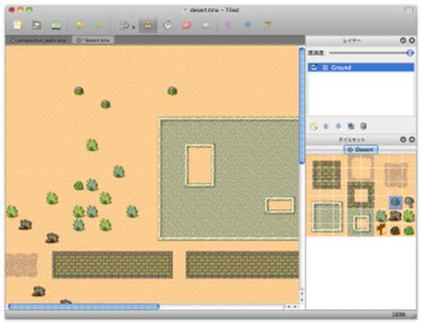 tiled map editor collision rpgゲームで使うようなマップを簡単に作成 tiled map editor macの手書き説明書