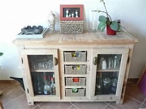 Plan Meuble Palette : meubles en palettes le bois recyclable pour votre confort ~ Dallasstarsshop.com Idées de Décoration