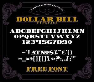 Dollar Bill - Free Bold Font