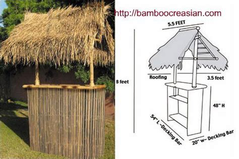 Buy Tiki Hut by Tiki Bars And Huts Bamboo Bamboo Creasian Custom Built