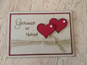 Glückwunschkarte Zur Hochzeit Selber Basteln : stempellicht hochzeitskarte mit herzen karte hochzeit karten basteln hochzeit und ~ Watch28wear.com Haus und Dekorationen