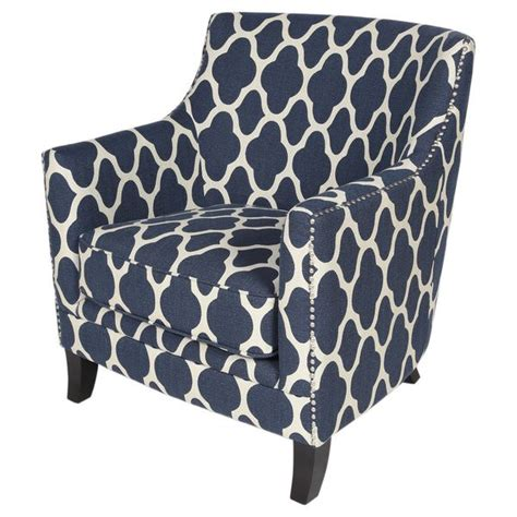 1000 ideas about navy blue accent chair on