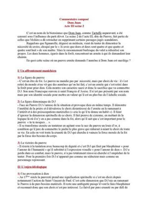 Dom Juan Resume Acte 1 by Calam 233 O Dom Juan Acte Iii Sc 232 Ne 2