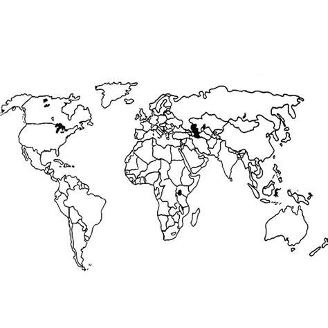 Carte Du Monde à Colorier Omy by Coloriage Carte Du Monde