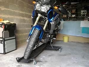 ranger sa moto dans le garage