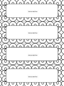 editable  tags  desk plates  black  white