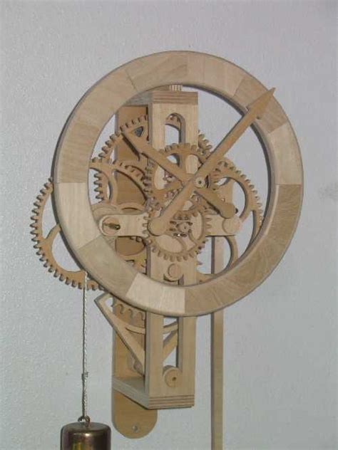 wooden clock plans diy woodworking projects