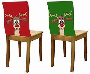 Hussen Für Schwingstühle : 2er stuhlhussen rentier didi rot gr n weihnachten stuhl ~ A.2002-acura-tl-radio.info Haus und Dekorationen