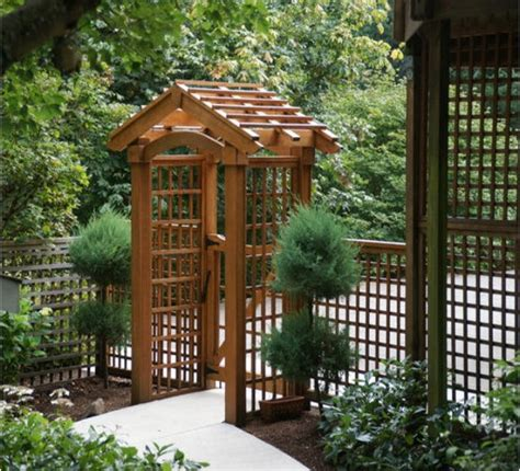 garden arbors plans pergolas gazebo