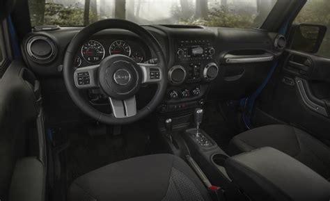 matte black jeep wrangler unlimited interior 2016 jeep wrangler black bear edition debuts news car