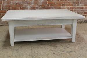 white reclaimed wood coffee table ecustomfinishes With white reclaimed wood coffee table