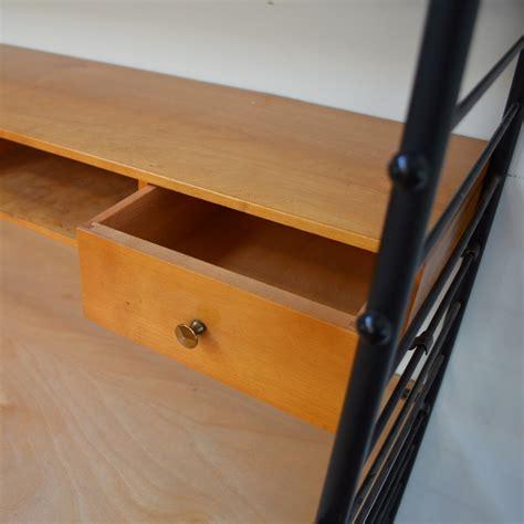 string bureau bureau étagère string vintage