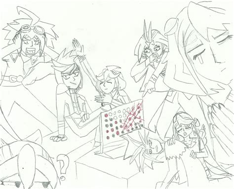 ARC V Draw Your Squad 1 Connect 4 by XBrain130 on DeviantArt