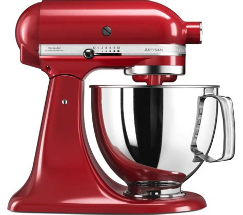 mixer cuisine buy kitchenaid artisan 5ksm125ber stand mixer empire