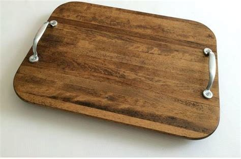 Rustic Upcycled DIY Serving Tray   DIYIdeaCenter.com