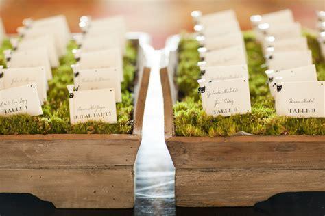 creative wedding reception ideas escort cards  onewedcom