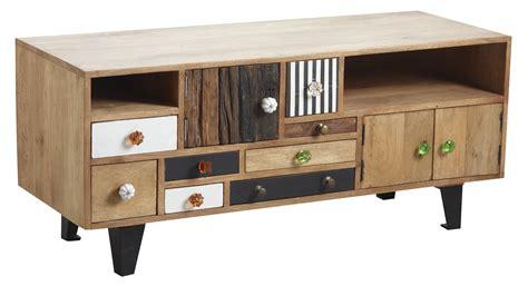 accessoire bureau original meuble tv original en manguier